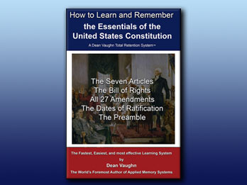 Learn and Remember the Essentials of the United States Constitution!