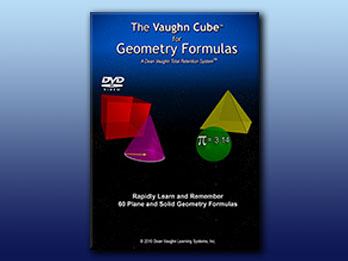 The Vaughn Cube for Geometry Formulas